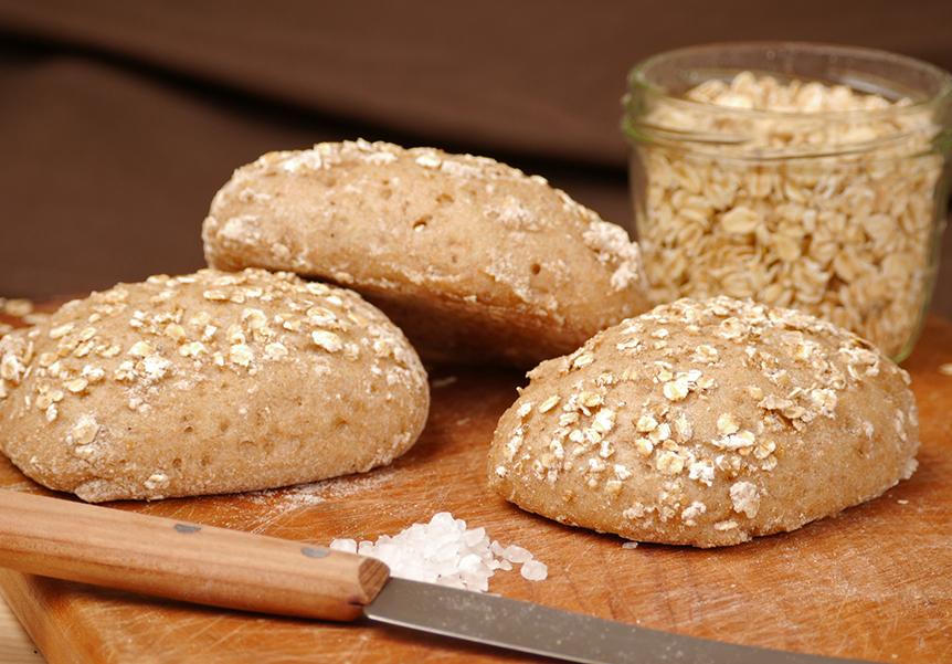 Glutenfreie Haferbrötchen, 3er Pack
