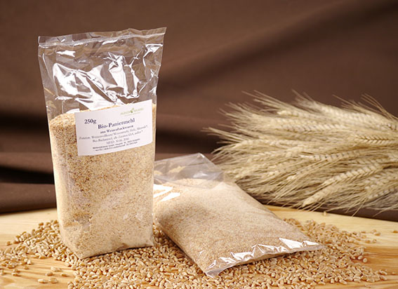 Paniermehl aus Weizengebäck