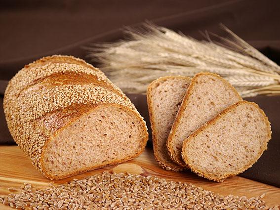 Sesam-Weizenvollkorn-Brot